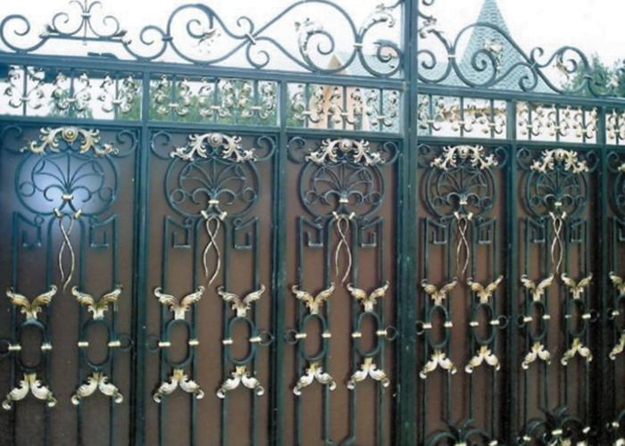 Красота и надежность ворот