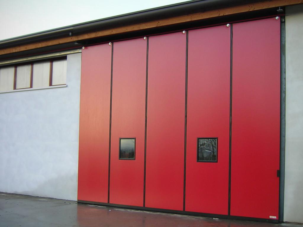 Ворота Doorhn для склада