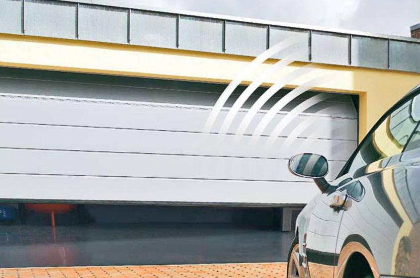 Автоматические ворота для гаража на дистанционном управлении