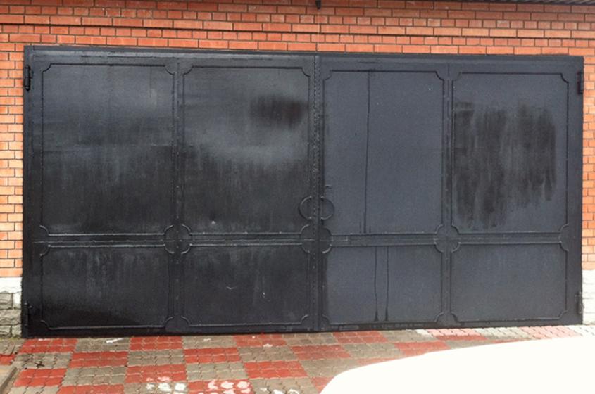 гаражные ворота по низкой цене