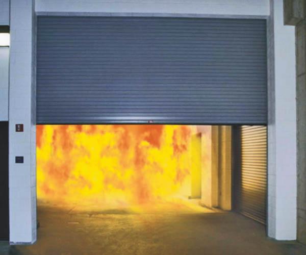 Надежность защиты с противопожарными воротами