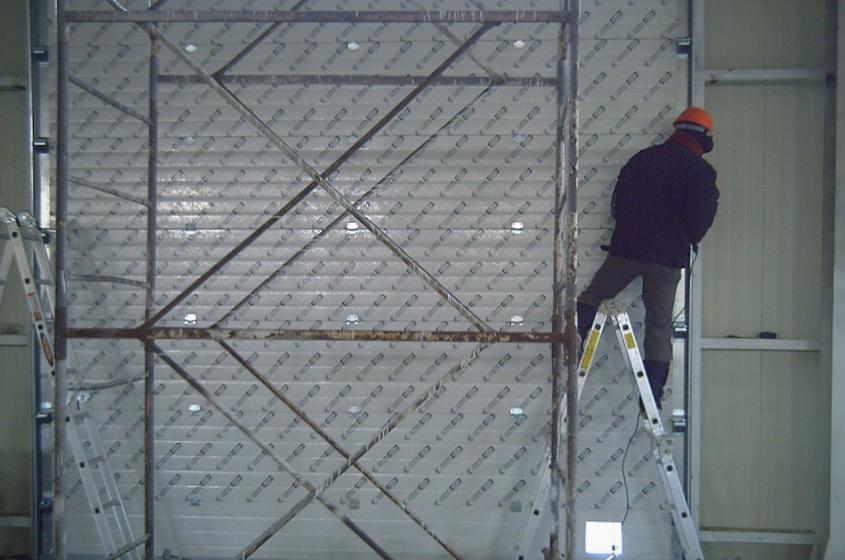 Монтаж гаражных ворот за дополнительную цену