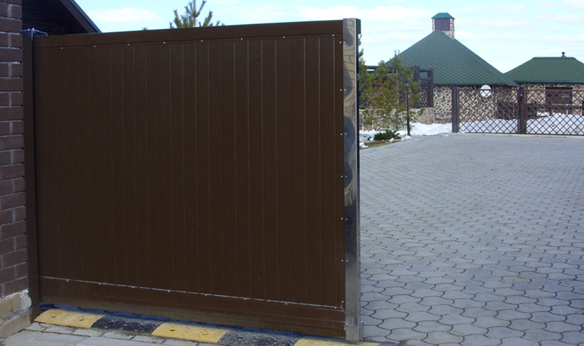 Откатные ворота от производителя Херман