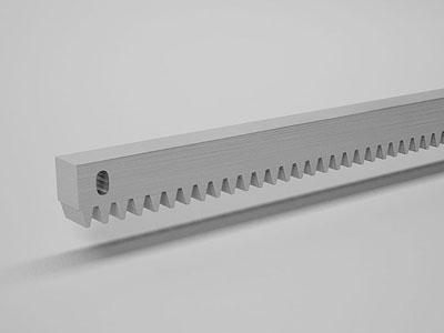 Комплектующее зубчатая рейка для откатных заграждений