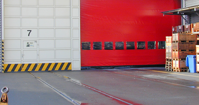 Рулонные ворота от завода Дорхан